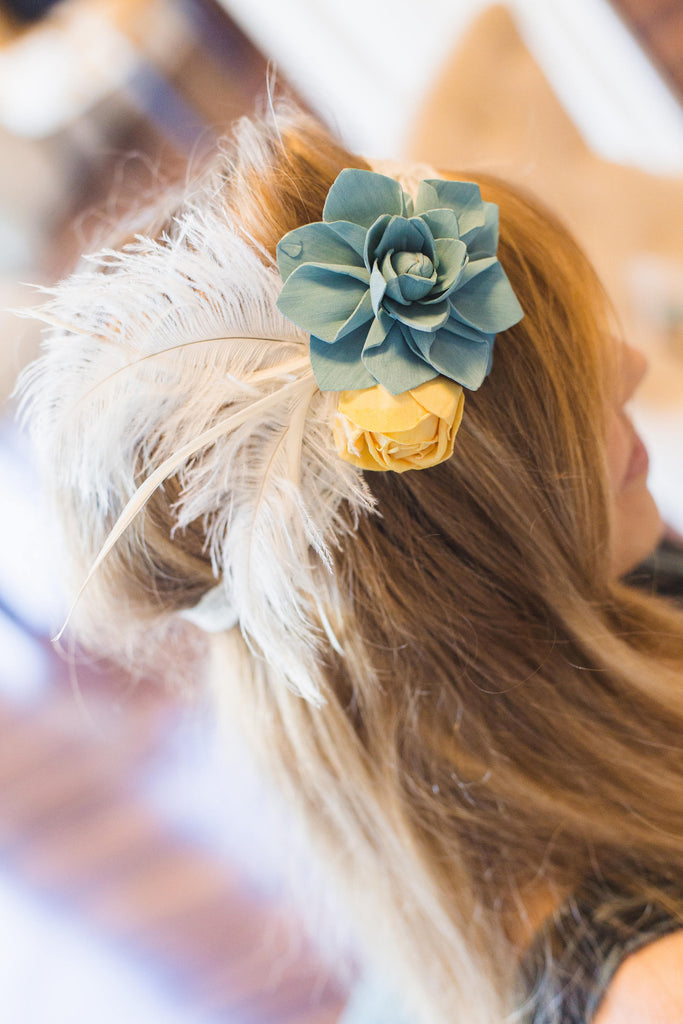 Vintage Headband Hairpieces & Accessories Pine and Petal Weddings