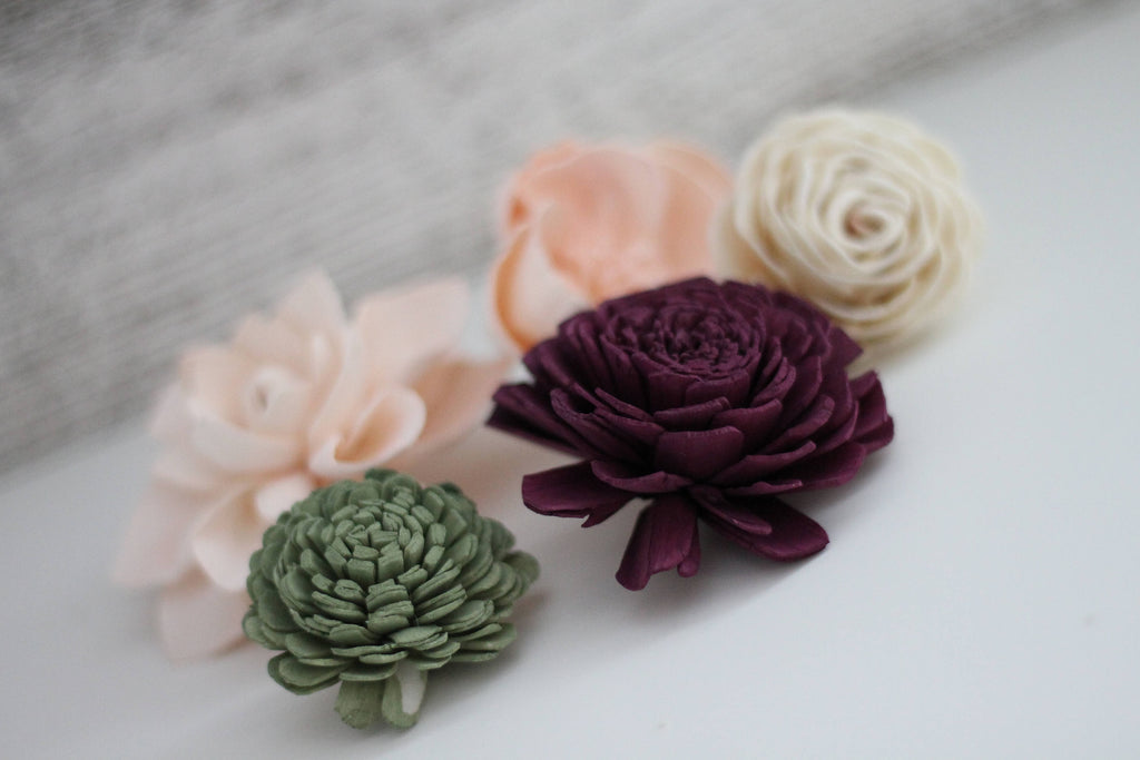 SAMPLE Garden Woodland Loose Flowers Loose Flowers & Samples Pine and Petal Weddings