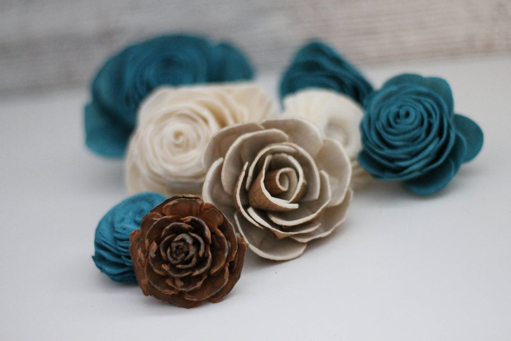 SAMPLE - Rustic Loose Flowers Loose Flowers & Samples Pine and Petal Weddings