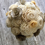 Book Page Flower Bouquet Bouquets Pine and Petal Weddings