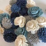 12 Flower Assortment - Spring Frost Loose Flowers Loose Flowers & Samples Pine and Petal Weddings