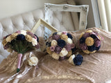 Champagne Twilight Bouquet Bouquets Pine and Petal Weddings