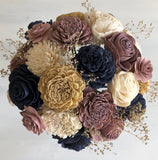 Champagne Twilight Bouquet - PineandPetalWeddings