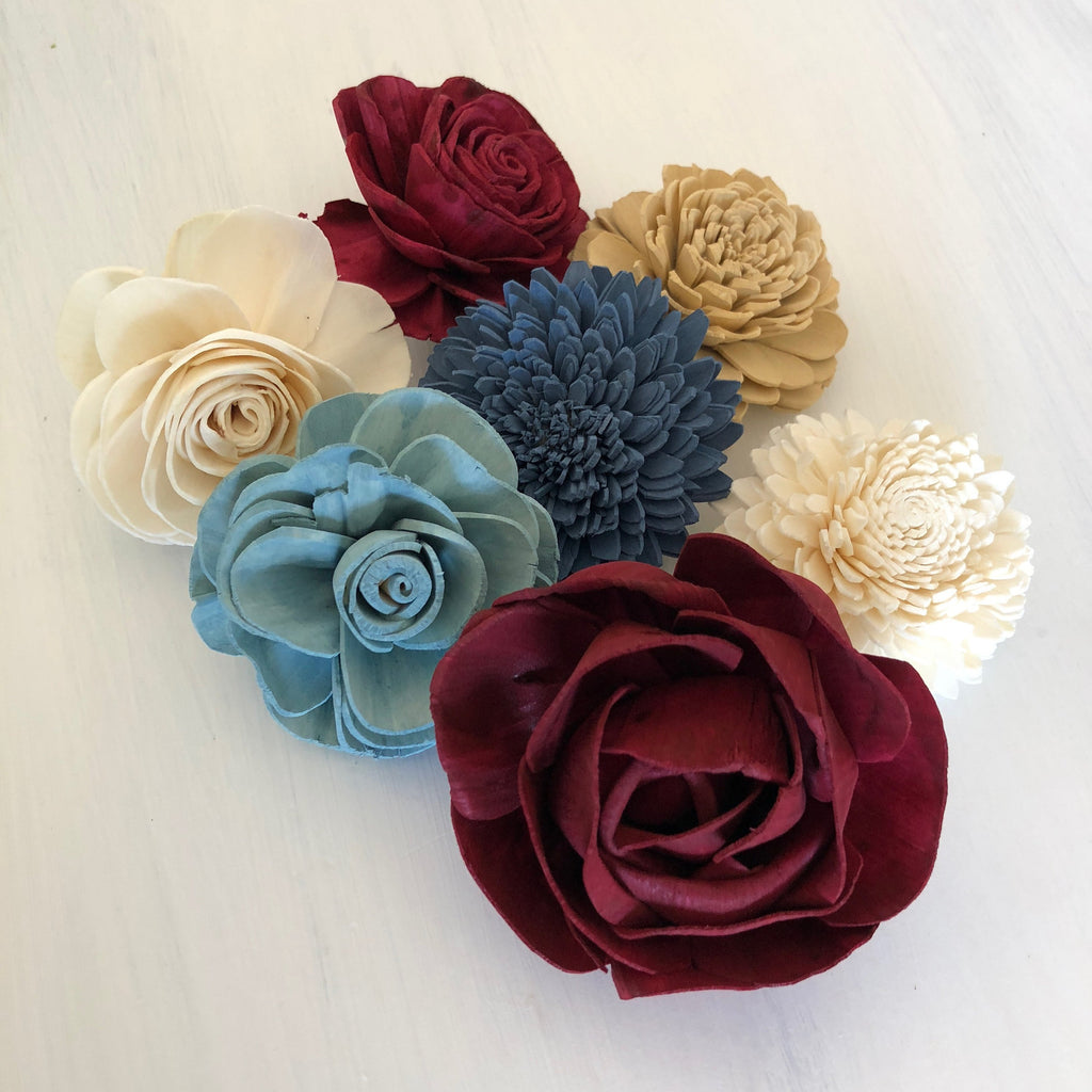 SAMPLE Heartland Loose Flowers - PineandPetalWeddings