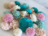 12 Flower Assortment - Mermaid Lagoon Loose Flowers Loose Flowers & Samples Pine and Petal Weddings
