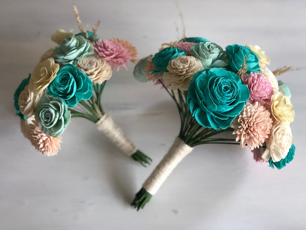 Mermaid Lagoon Bouquet Bouquets Pine and Petal Weddings