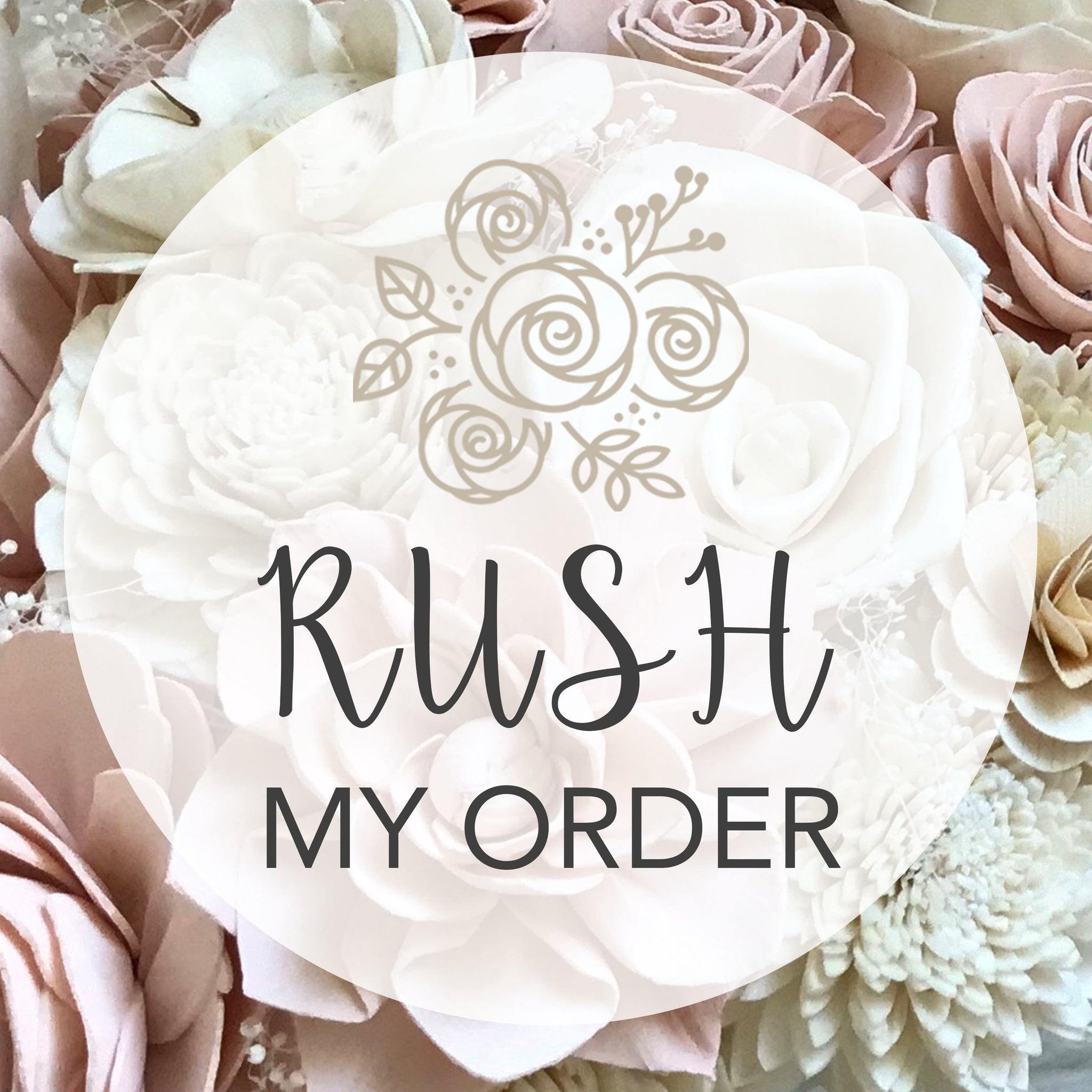 RUSH MY LOOSE Flowers - Process My Single Loose Flower Order within 3-5 Business Days