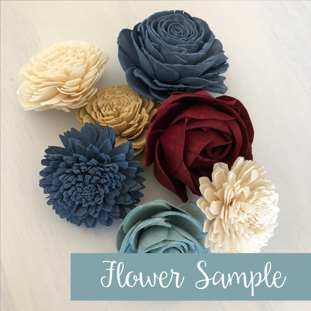 SAMPLE Heartland Loose Flowers Loose Flowers & Samples Pine and Petal Weddings