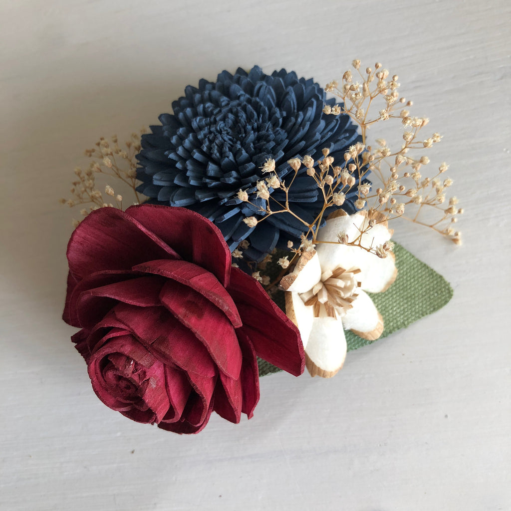 Heartland Wrist Corsage Boutonnières & Corsages Pine and Petal Weddings