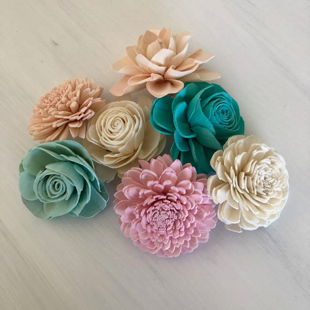 SAMPLE Mermaid Lagoon Loose Flowers Loose Flowers & Samples Pine and Petal Weddings