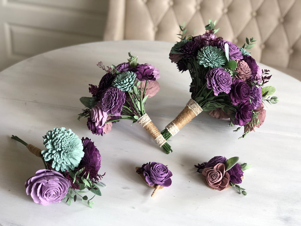 Napa Valley Wrist Corsage Boutonnières & Corsages Pine and Petal Weddings