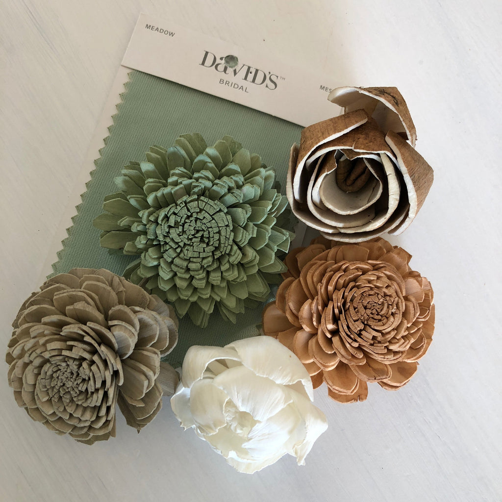 SAMPLE Sierra & Sage Loose Flowers Loose Flowers & Samples Pine and Petal Weddings
