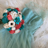 CUSTOM Wood Flower Bouquet Custom Orders Pine and Petal Weddings