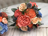 Peaches and Dream Bridesmaid Bouquet Bouquets Pine and Petal Weddings