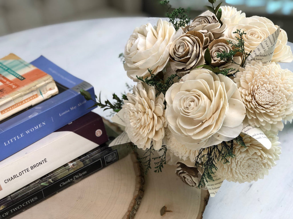 Naturally Novel Bouquet Bouquets Pine and Petal Weddings