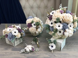 The Carriage House Bouquet - PineandPetalWeddings