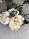 My Fair Lady Wrist Corsage Boutonnières & Corsages Pine and Petal Weddings