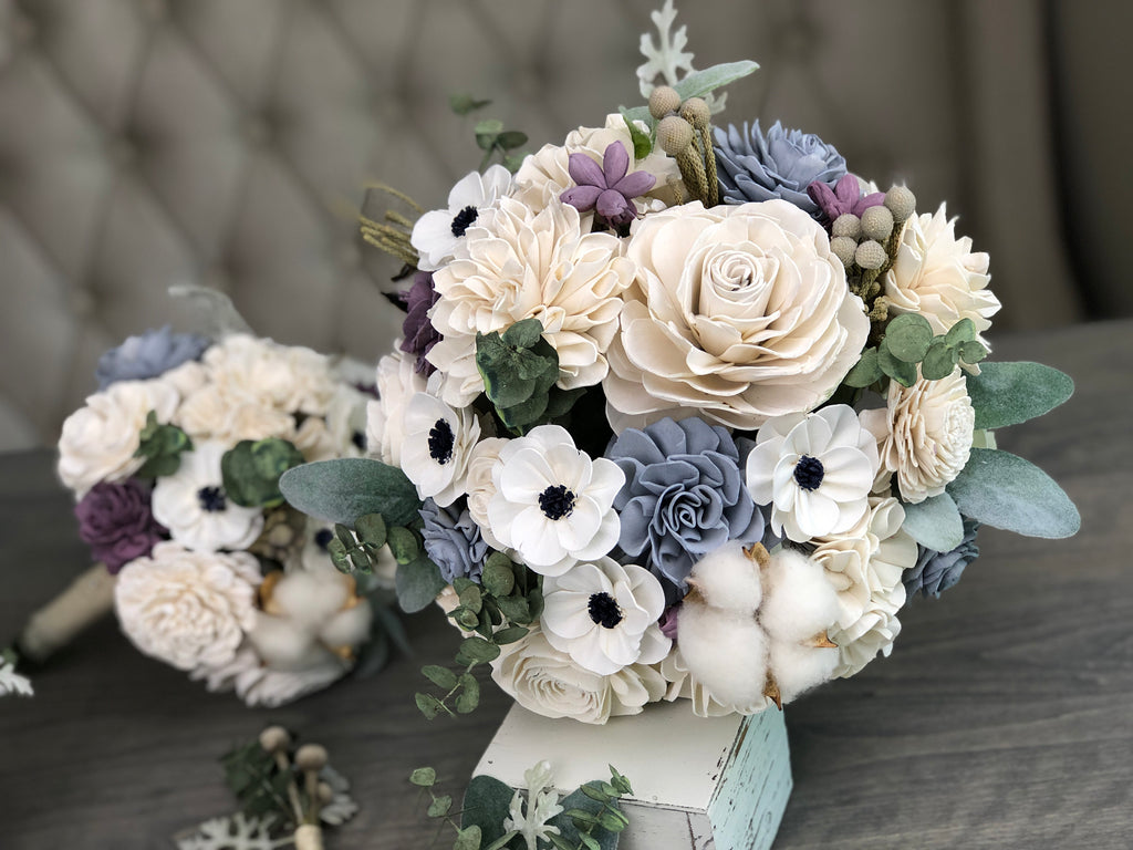 The Carriage House Bridal Bouquet Bouquets Pine and Petal Weddings