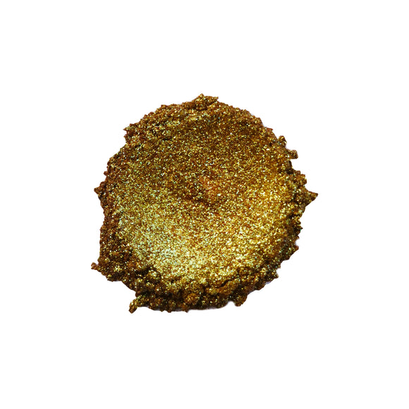 Emerald Gold - Chameleon Glitter Pigment - Making Makeup Professional