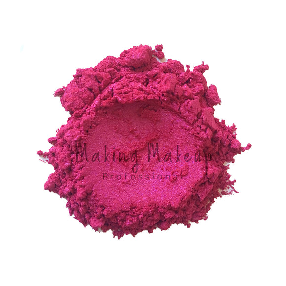 Fierce Magenta - Coloured Mica Powder - Making Makeup Professional