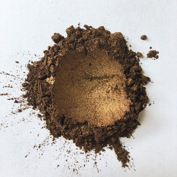 Dark Chocolate - Coloured Mica Powder - Making Makeup Professional