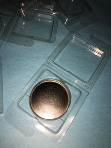 Empty PVC Eyeshadow Case - 36mm