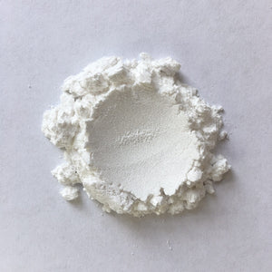 Chiffon White- Mica Powder