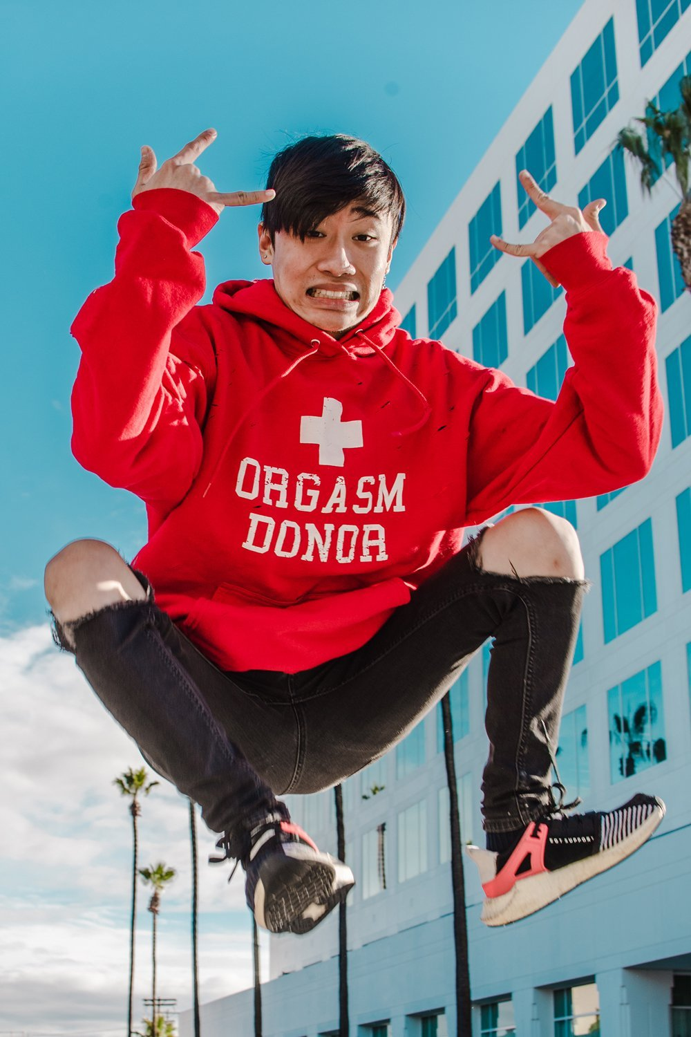 OG Donor Hoodie (Red)