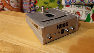 Korg DT-10 Chromatic Pedal Stomp Guitar Floor Tuner - Robust and Accurate