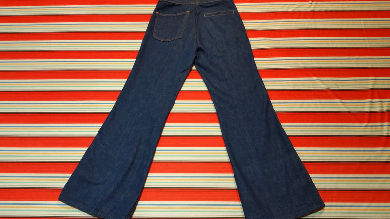 Bell Bottom Jeans by Farah Vintage 30 Waist Made In USA
