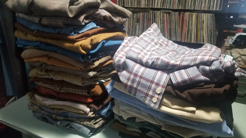 36 Vintage Suit Jackets Wholesale Lot Box #2