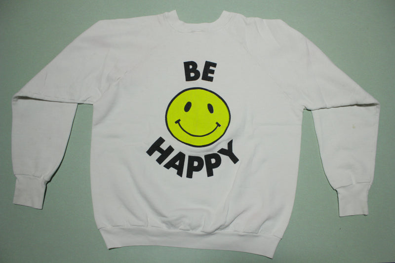 Dont Worry Be Happy Vintage Bobby McFerrin Jazz Vocalist 80s Crewneck Sweatshirt