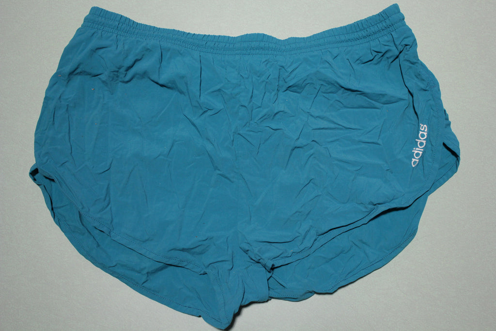 Adidas Vintage Made in USA 1995 St. Patricks Foot Race 90's Running Shorts