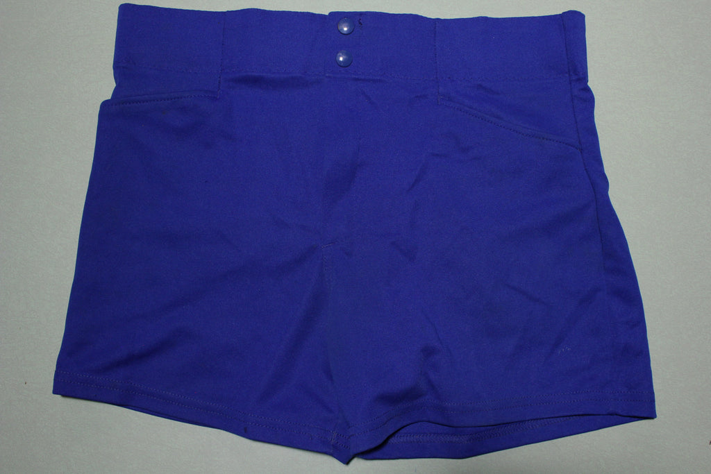 MacGregor Made in USA 80s Polyester Coach Softball Baseball Shorts