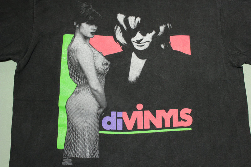 Divinyls 1991 1992 I Touch Myself World Tour Screen Stars Vintage Chrissy Amphlett T-Shirt
