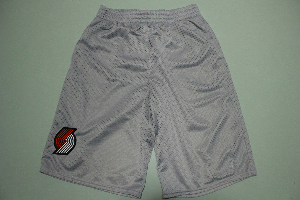 Portland Trail Blazers Vintage Patch Starter Mesh Gym Shorts