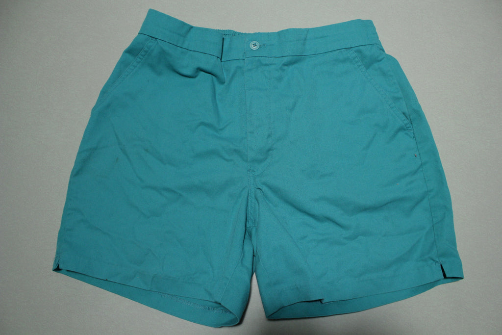 McGregor Vintage 90's Green Coach Multi Pocket Shorts