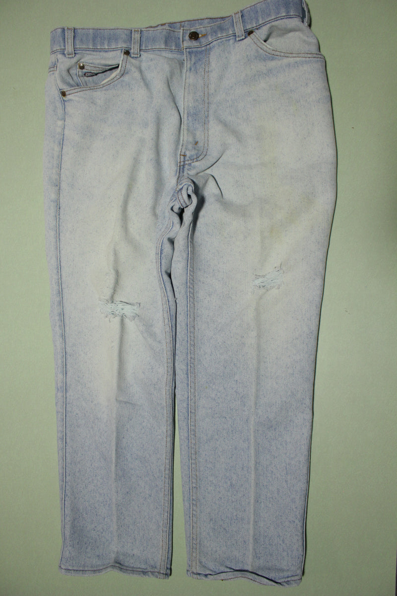 Levis Vintage 80s Stone Washed Made In USA 40865-4034 Denim Jeans