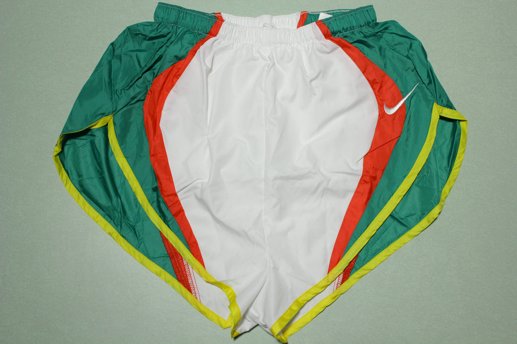 Nike Vintage Running Shorts Cascade High Cut Split 90s USA Track Pro Marathon