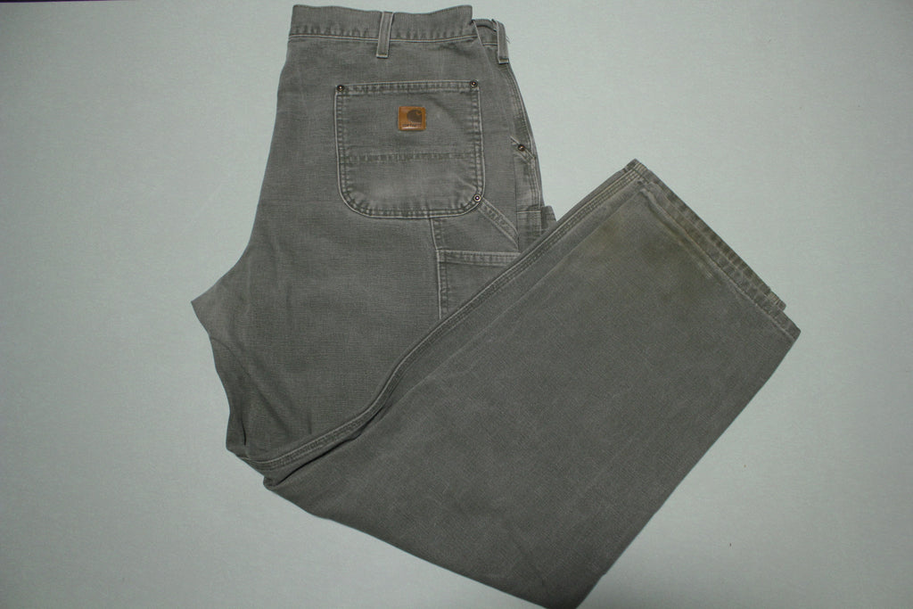 Carhartt B136 Multi Utility Pocket Carpenter Work Double Knee Front Canvas Pants