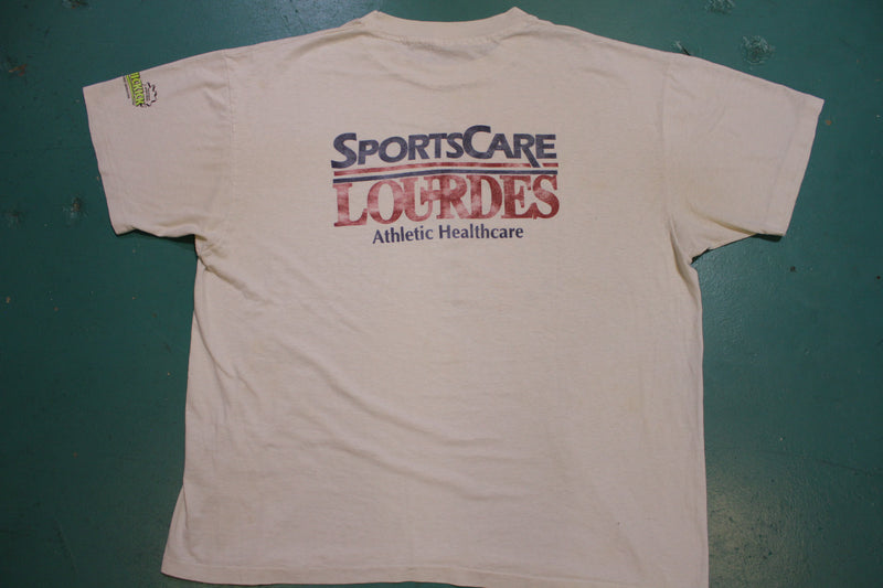 LCIRSA Layafette 1992 Vintage Quickick State Tournament 90s Football Tshirt