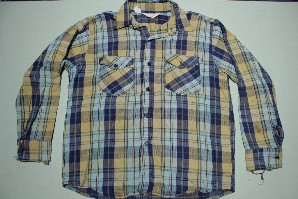Best Jim Catfish Hunter Sponsored Vintage 70's Flannel Shirt