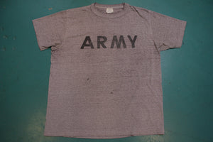 Army Official 1988 Distressed Military Government Issue 80s Single Stitch Vintage T-Shirt