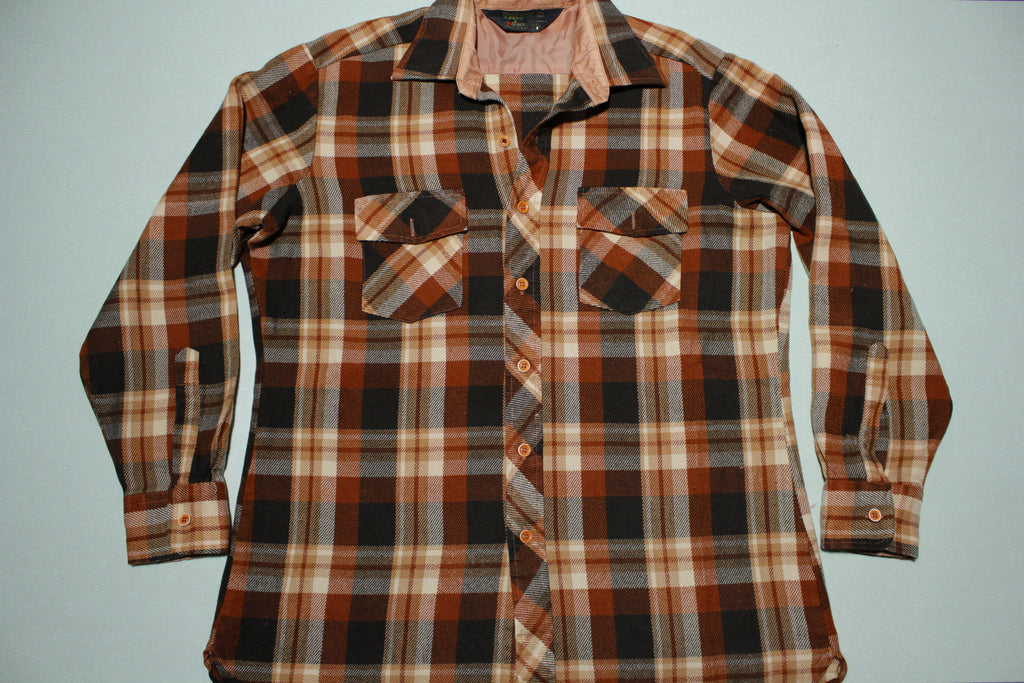 Kmart Sportsman Shirt Vintage 80's 70's Button Up Flannel