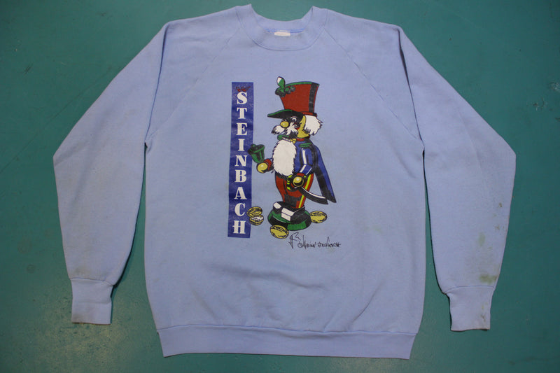 Christian Steinbach Famous Nutcracker King 80s Vintage Fruit of the Loom Crew Neck Sweatshirt
