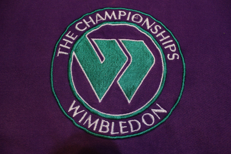 Wimbledon Embroidered The Championships 90's Vintage Crewneck Sweatshirt