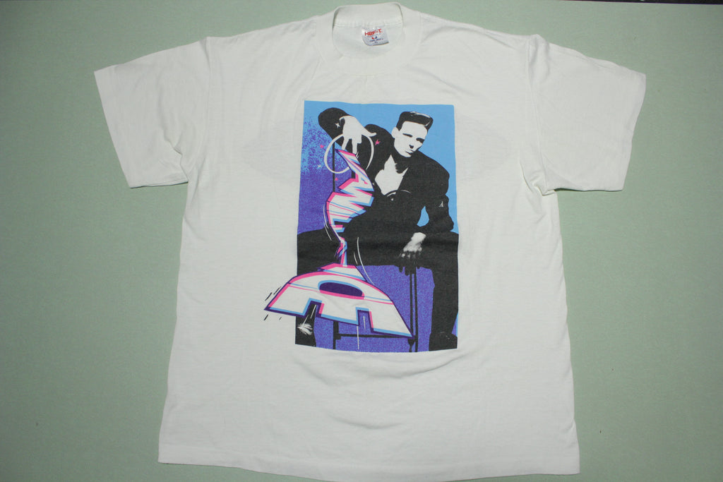 Vanilla Ice Baby Vintage 90's Hef-T TeeJays Made in USA Single Stitch T-Shirt