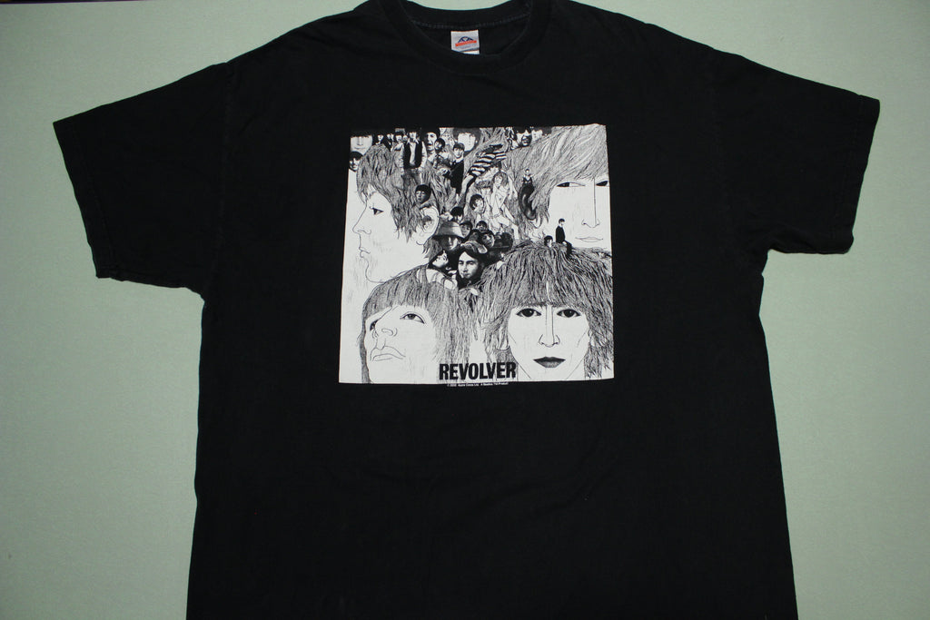 Beatles Revolver 2002 Collage Apple Corps Lennon McCartney T-Shirt