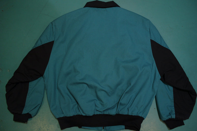 Canyon Guide Outfitters VTG 90's M Cowboy Jacket Aztec Green Black USA Made MINT