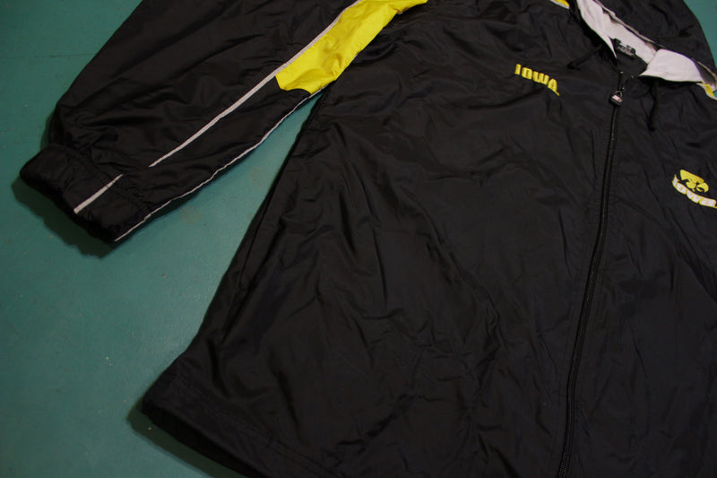 Starter Iowa Hawkeyes Hooded 90's Vintage Hoodie Windbreaker Jacket